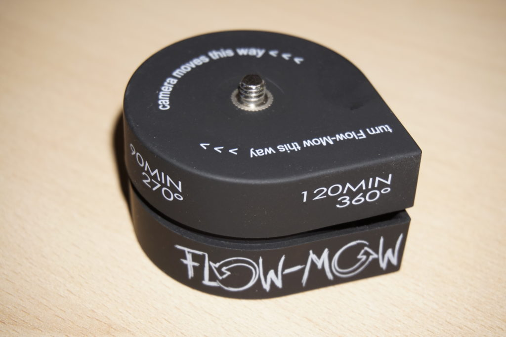 Flow-Mow for timelapses