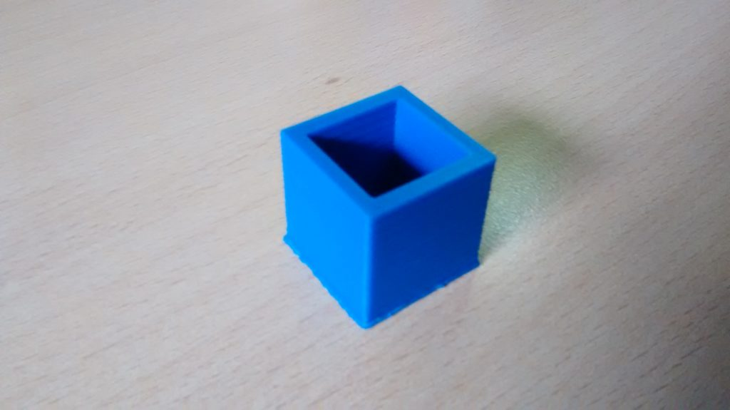 20 mm test cube